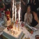 Proslava stotog rođendana u Cvjetnom domu