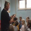 Djeca u posjeti Policijskoj postaji Vodice