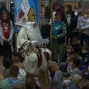 Sveti Nikola u knjižnici