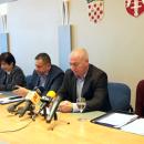 Stožer civilne zaštite ŠKŽ press o koronavirusu